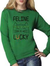 Sweatshirt, Crew Cat Hoodies & Sweatshirts for Women