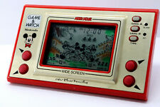 Nintendo Game & Watch Wide Screen Mickey Mouse MC-25 MIJ 1981 Good Condition g27