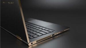 HP Spectre X360 2 In 1 - Intel i5 - 256GB SSD - 8GB RAM - win 10