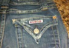 EUC Women's/Junior HUDSON Cropped Jeans Size 25  Stretchy