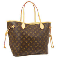 LOUIS VUITTON NEVERFULL MM SHOULDER TOTE BAG AR1068 MONOGRAM M40156 01895