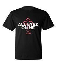 Official 2PAC All Eyez On Me Movie Promo Tupac Shakur Black T-shirt Sz S NWOT