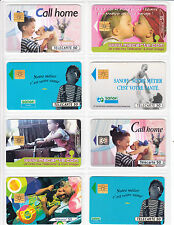 8 TELECARTE / PHONE CARD .. FRANCE 50U  PACK BEBE BABY ENFANT MIX PUCE C.14€