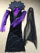 ADULT FANCY DRESS VAMPIRE BRIDE COSTUME One size Halloween