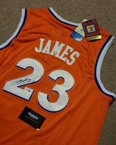 LeBron James Auto Autographed 2016 Cleveland Cavaliers Jersey 23 w/COA