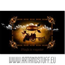Punk à Vapeur Tableau en Toile 60x40 cm, Décoration Murale Steampunk HQ