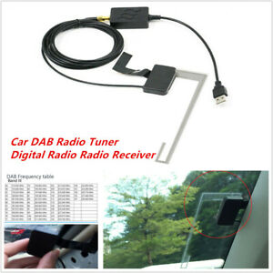 Universal Car DAB Digital Tuner Radio Receiver for Android Navigation APP DVD