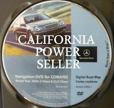 2004.1 Mercedes  CLK 500 GPS Navigation DVD