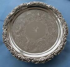Sheffield Antique Silver Plates/Platters/Trays