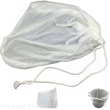 Home Brewing Extra Large Reusable Drawstring Brew BIAB Homebrew Beer Bag
