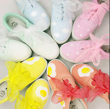 Womens Platform Gilrs Preppy Shoes Sneakers Creeper Fashion New Casual 24 Colors