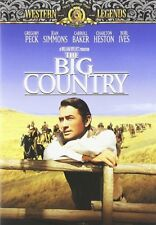 The Big Country (DVD, 2001, Western Legends) Gregory Peck Burl Ives NEW
