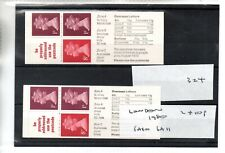 GB - Stamp Booklet - (324) FA10 & FA11 London 1980 Booklet - 2 booklet