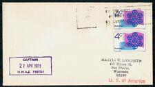 Mayfairstamps Australia Event 1971 Cover Sydney Hmas Perth Captain wwh78557