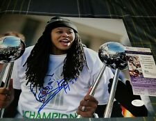 Seimone Augustus WNBA Champion (Lynx) Signed 11x14 in person. JSA CERTIFIED