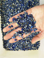 LAPIS LAZULI Afghanistan Tumbled chips 1/2 lb bulk stones