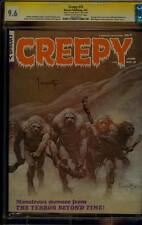 CREEPY 15 CGC 9.6 SS SIGNED FRANK FRAZETTA CLASSIC COVER HORROR MAGAZINE 1967