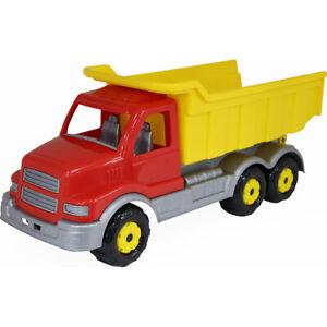 WADER Gigant Muldenkipper LKW Spielzeugauto Baufahrzeug Sandkastenspielzeug