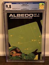 ALBEDO 3  CGC 9.8 Stan Sakai (1985) 2nd USAGI YOJIMBO 3921065005 NETFLIX