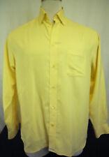 Ted Baker London Classic Cut Long Sleeve Yellow Shirt Sz.15 (2)