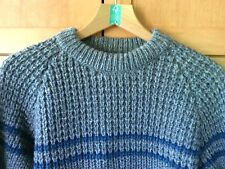 Ardara Arans Irish Pure Wool Sweater Size M Pullover Jumper Crew Neck Knit Wear