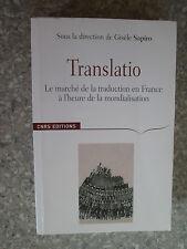 Translatio : Le marché de la traduction en France à l'heure de la mondialisation
