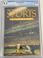 SPORTS ILLUSTRATED #1 CGC NM-(9.2) FIRST ISSUE (AUGUST 16, 1954) RARE W/ CARDS!