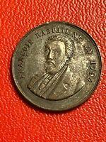 #5592 - Médaille Elu représentant du peuple 1848 François Raspail - FACTURE