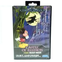 Sega Mega Drive Game CASTLE OF ILLUSION - Starring Mickey Mouse PAL / COMPLETE