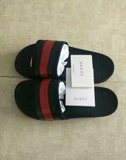 Women's Gucci Logo Slides Rubber-Flip Flops/Sandals/Slippers EU 39