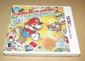 Paper Mario: Sticker Star (Nintendo 3DS) Brand New / Fast Shipping