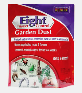 Bonide Eight GARDEN DUST 3 lb Insect Control Kill Repel Over 55 Insects Beetles