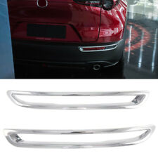 for Mazda CX-30 2019-2020 ABS Chrome Accessories Rear Fog Light Lamp Cover Trim