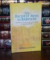 The Richest Man in Babylon by George Clason Wealth New Deluxe Hardcover Gift