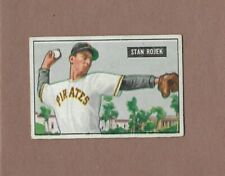 Stan Rojek Stl Cardinals Ss Mlb 1951 Bowman Baseball Card 166 Single Original Bb