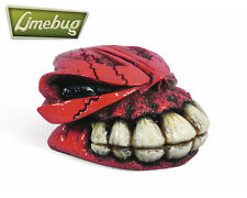 Red Bone Grinder Rock Head Custom Gearstick Skull Head Resin Gear Knob Shift VW