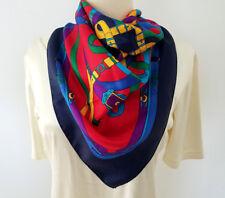 NEW! Designer KK, Gorgeous, 100% Silk Scarf, 34 x 34 inches