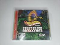 Hot Wheels Stunt Track Challenge Windows 98 / XP / 2000 PC Video Game