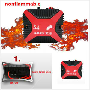Car Dual Ultrasonic Waves Mouse Rat Rodent Pest Animal Repeller Engine Protector