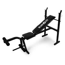 WEIGHT TRAINING BENCH PRESS LEG CURL MACHINE 160KG GYM *FREE P&P SPECIAL OFFER