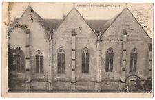 CPA 77 - CROUY SUR OURCQ (Seine et Marne) - L'Eglise - Dos simple