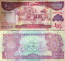 SOMALILAND 2011 1000 SHILLINGS UNCIRCULATED BANKNOTE P-20 BUY FROM A USA SELLER