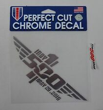 2016 Indianapolis 500 100TH Anniversary Event Perfect Chrome Cut Decal