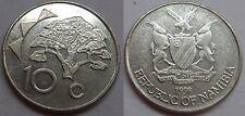Namibia 10 Cents 1998