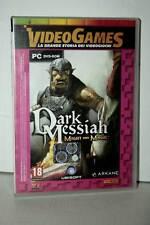 DARK MESSIAH MIGHT AND MAGIC GIOCO USATO BUONO STATO PC DVD VER ITA VBC 37878
