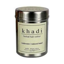 Khadi Herbal Nut Brown Henna Natural Hazel Hair Color Unique Formulation 150 gm