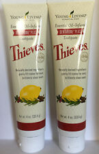 YOUNG LIVING Thieves Dentarome Plus Toothpaste 4 oz 2 Pack!!