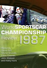 World Sportscar Championship Review 1987 (New DVD) Boesel Cheever Mass Bell