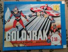 1978 Goldorak Toei Wax Pack Wrapper France japan super robot anime manga