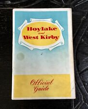 HOYLAKE and WEST KIRBY OFFICIAL GUIDE 1959